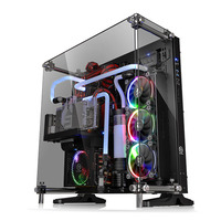 Thermaltake behuizing: Core P5 Tempered Glass Edition - Zwart