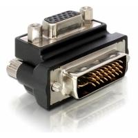 DeLOCK kabel adapter: VGA Adapter - Zwart