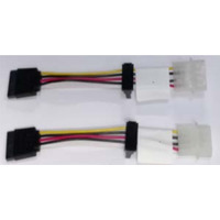 Intel : Spare SATA Power Adapter Cable AXXSTCBLSATA - Multi kleuren