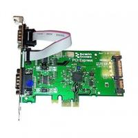 Brainboxes interfaceadapter: 2 x RS232, 9 Pin (M), PCI Express - Groen