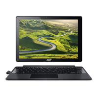 "Acer laptop: Switch 12"" ,256GB, i5-processor met Windows 10 Pro   - Zwart, Zilver, QWERTY"
