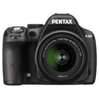 PENTAX K 50 + 18-55 WR ZWART