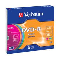 Verbatim DVD: DVD-R Colour