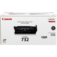 Canon 732BK - Tonercartridge / Zwart / Hoge Capaciteit