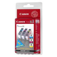 Canon inktcartridge: CLI-8 C/M/Y - Cyaan, Magenta, Geel