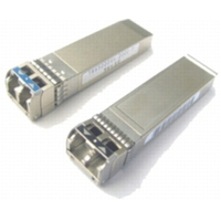 Cisco netwerk tranceiver module: 2/4/8-Gbps Fibre Channel-Longwave, SFP+, LC, Spare - Roestvrijstaal
