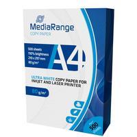 MediaRange papier: DIN A4 Copypaper 80g, 500sheets - Wit