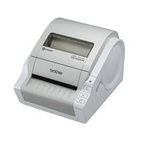 Brother labelprinter: TD-4100N - Professionele netwerk labelprinter voor RD labels en rollen van 51 tot 102 mm - 300 .....