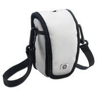 HP cameratas: Deze sportieve zilverkleurige tas beschermt uw camera en de accessoires tegen krassen, stoten en .....
