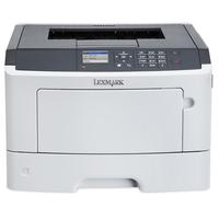 MS415dn A4 laserprinter 38 ppm 800 MHz CPU 256MB PostScript 3. PCL 6. PDF 1.7. XPS. HTML. Direct Image en Airprint Gigabit LAN. parallel en USB 2.0 + 3K toner