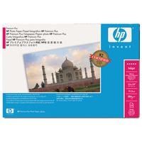 HP fotopapier: 458 x 610 mm, 280 g/m², Glans - Zwart, Blauw, Wit