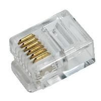LogiLink kabel connector: RJ12 - Transparant