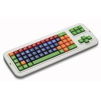 Ergoline Kinder toetsenbord toetsenbord - Multi kleuren