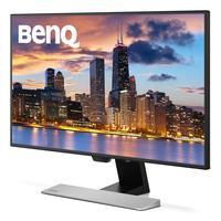Benq monitor: EW2770QZ - Zwart, Zilver