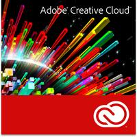 Adobe software licentie: Creative Cloud - Individuele editie voor studenten - Multilingual