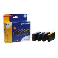 Pelikan inktcartridge: 4105882 - Zwart, Cyaan, Magenta, Geel