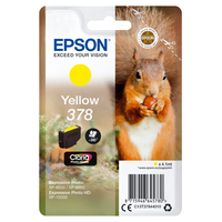 Epson inktcartridge: Singlepack Yellow 378 Claria Photo HD Ink - Geel