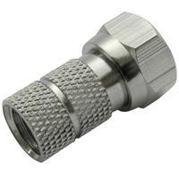 Schwaiger coaxconnector: FST8312 201 - Zilver
