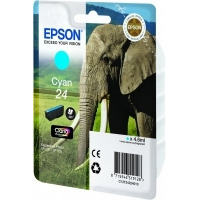 Epson inktcartridge: Singlepack Cyan 24 Claria Photo HD Ink - Cyaan