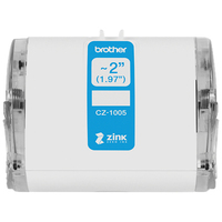 Brother Originele CZ-1005 rolcassette, 50 mm breed Labelprinter tape