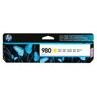 HP inktcartridge: 980 originele gele inktcartridge - Geel