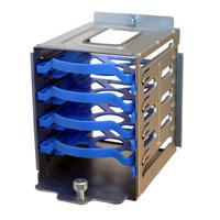 Supermicro Computerkast onderdeel: HDD cage module - Geborsteld staal