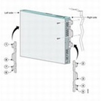 Cisco montagekit: Locking wall-mounting kit - Wit