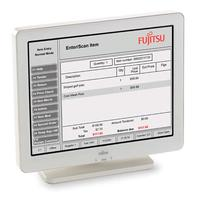 Fujitsu touchscreen monitor: D25 - Wit
