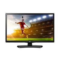 LG monitor: 24MT48DF - Zwart