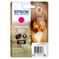 Epson inktcartridge: Singlepack Magenta 378 Claria Photo HD Ink