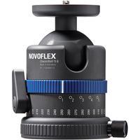 """Novoflex statiefkop: Classic Ball 5 II, 1/4"""" & 3/8"""" thread, 970g - Zwart, Blauw"""