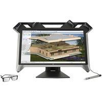 HP monitor: Zvr - 23.6'' Full HD - Zwart