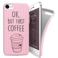 I-Paint mobile phone case: Coffee Mug - Roze