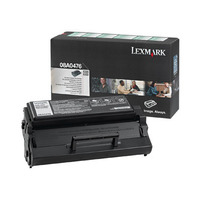 Lexmark cartridge: E320, E322 3K retourprogramma printcartr - Zwart