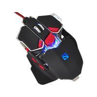 Sandberg computermuis: Blast Mouse - Zwart, Rood