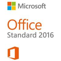 Microsoft software licentie: Office Standard 2016, 1U, GOV