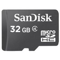 Sandisk flashgeheugen: microSDHC 32GB - Zwart