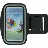 Azuri mobile phone case: Sport armband large - zwart