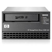 Hewlett Packard Enterprise StoreEver LTO-5 Ultrium 3280 SAS Tape drive - Zwart