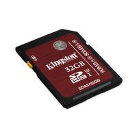 Kingston Technology flashgeheugen: SDHC UHS-I U3 32GB - Zwart, Kers