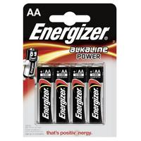 Energizer batterij: 4 x AA, 1.5V - Zwart, Zilver