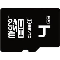 Emtec flashgeheugen: 4GB microSD - Zwart