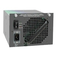 Cisco Catalyst 4500 1400 AC Redundant Power Supply power supply unit - Zwart