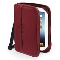 Built tablet case: Case for Apple iPad, Black/Bordeaux - Zwart, Bordeaux