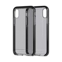 Tech21 Evo Check mobile phone case - Zwart, Transparant