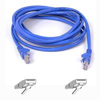 Belkin netwerkkabel: RJ45 CAT-6 Snagless STP Patch Cable 5m blue