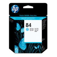 HP printkop: 84 licht-cyaan DesignJet printkop - Lichtyaan