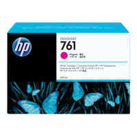 HP inktcartridge: 761 magenta DesignJet inktcartridge, 400 ml