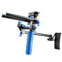 Walimex tripod: pro DSLR Rig Hand & Shoulder Rig RL-00 - Zwart, Blauw