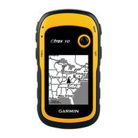 Garmin navigatie: eTrex 10 - GPS 128x160, USB, Geel